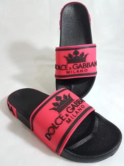 Chinelo Slide Dolce Gabbana Feminino Infantil