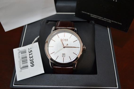 Reloj Hugo Boss 513399 Segmento Black Nuevo Original