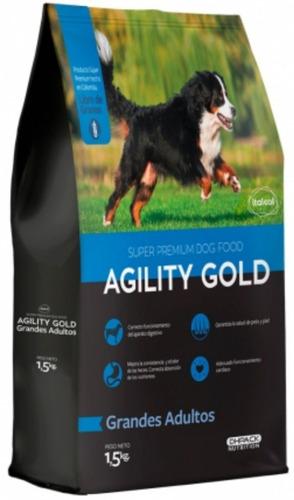 Imagen 1 de 1 de Agility Gold Grandes Adultos 1.5 Kg - kg a $23600