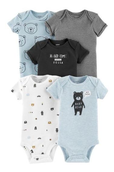 Carters® Pack Sets Bodys Bebé Nene Manga Corta