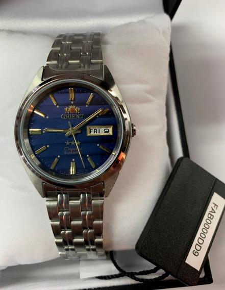 Relógio Automático Orient Fab0000dd9 Original + Caixa 3 Star