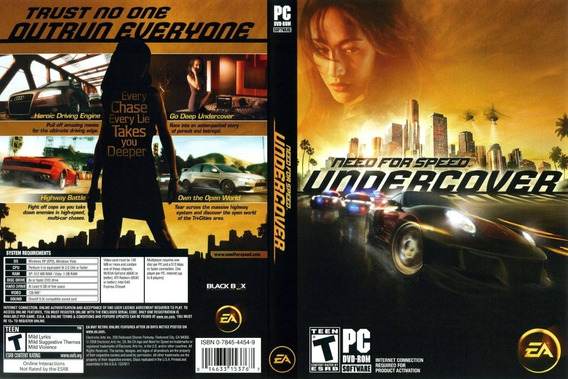 Need For Speed Undercover Pc Game Lacrado