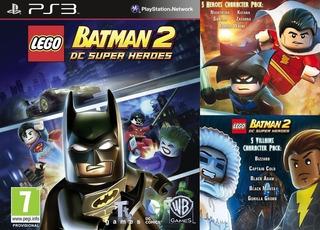 Lego Batman 2 Dc Super Heroes + Dlc ~ Ps3 Digital Español