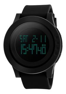 Reloj Deportivo Con Luz Sumergible Cronometro Skmei 1142