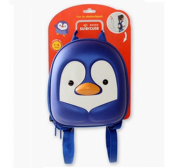 Mochila Pinguino Supercute Original Kawaii Niño Niña Kinder