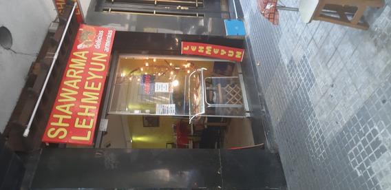 Local Comida Rápida Shawarma Lehmeyun Funcionando Por Viaje