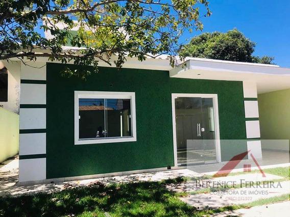 Casa À Venda No Bairro Itaipuaçu Em Maricá/rj - 126