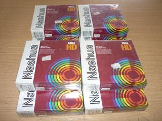 Diskettes 5.25 - Nashua Md2-hd - Caja Cerrada 10u.