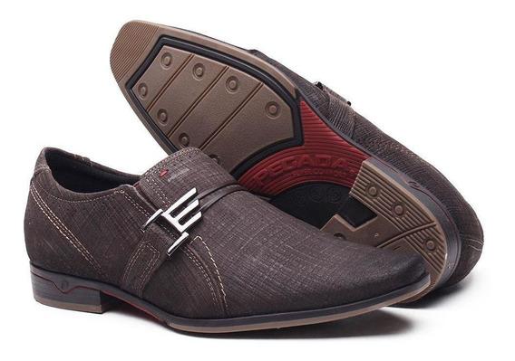 Sapato Esporte Fino Em Couro Masculino Pegada Preto 122210