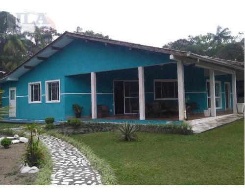 Chácara Com Casa Sede 3 Dorms (1 Suite) À Venda, 12000 M² Por R$ 775.000 - Jardim Ouro Fino - Paranaguá/pr - Ch0010