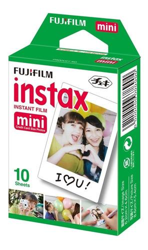 Imagen 1 de 4 de Película Instantánea Fujifilm Instax Mini (10 Hojas)