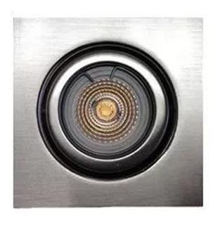 Spot Embutir Dicroico Fundicion Aluminio Ronda 18525 Platil