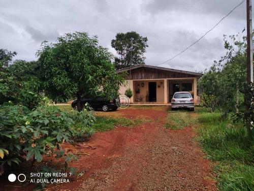 Imagem 1 de 14 de Chácara Com 4 Dormitórios À Venda, 4000 M² Por R$ 370.000,00 - Alto Da Boa Vista - Foz Do Iguaçu/pr - Ch0031