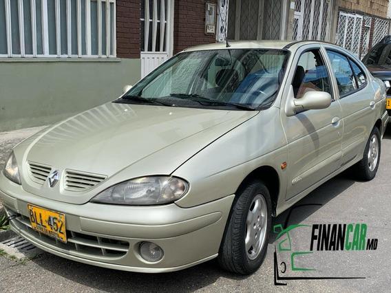 Renault Megane Mod 2001 Cilindraje 1400