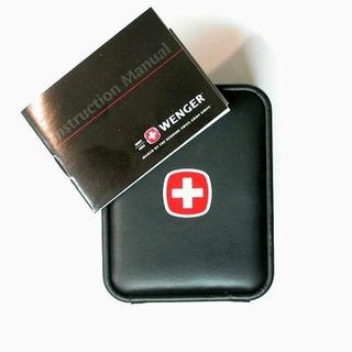 Estuche Reloj Wenger Swiss Military Original Nuevo Sin Uso