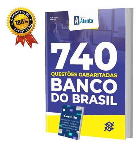 Imagem 1 de 6 de Apostila De Testes Banco Do Brasil - Questões Gabaritadas
