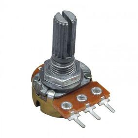 Potenciômetro Linear - 220k - L20 - Kit 3 Unidades