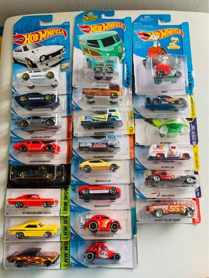 Coleção De 22 Hotwheels Maverick Fusca Kombi Dodge