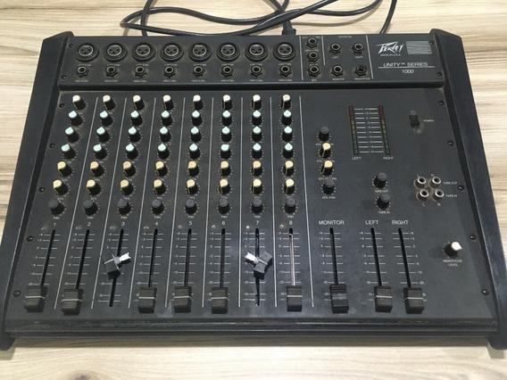 Mesa De Som | Mixer 8 Canais Peavey Unit Series 1000