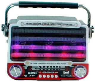 Rádio Analógico Cartão Mp3 Am Fm Sw Retro Bluetooth Antigo