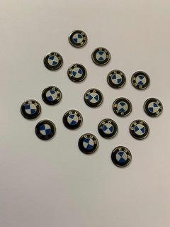Emblema Adesivo Chave Bmw 11mm Série 1 3 5 7 Frete R$ 8,00
