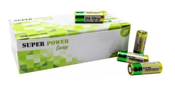 Baterias 12v A23 Cx 50 Unidades Super Power