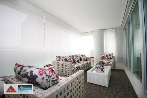 Imagem 1 de 30 de Apartamento À Venda, 335 M² Por R$ 4.200.000,00 - Jardim Anália Franco - São Paulo/sp - Ap6312
