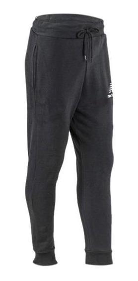 Pantalon New Balance Essentials Con Puño Hombre Negro