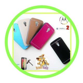 Kit C/ 100 Capa Capinha Celular Motorola Moto G2 Bege