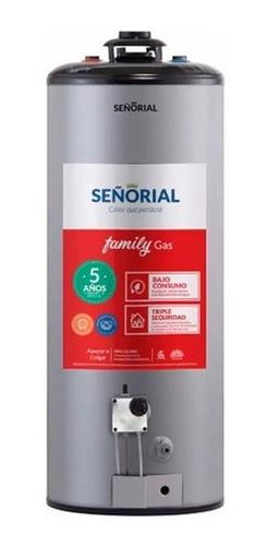 Imagen 1 de 2 de Termotanque Señorial Family Gas 85 Litros En Cuotas