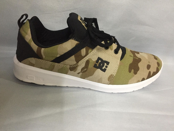 Tênis Dc Shoes Heathrow Se Camuflado 11149 Original