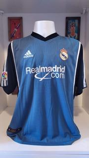 Camisa Real Madrid adidas 2001 Roberto Carlos