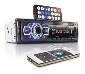 Radio Automotivo Som Bluetooth Auto Completo Fm Usb Mp3 + Nf
