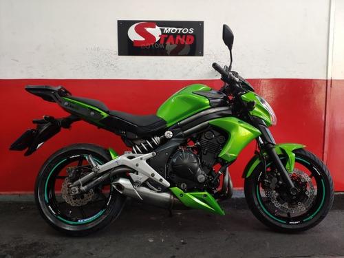 Kawasaki Er6n Er 6n Er-6n Er6 N Abs 650 2013 Verde