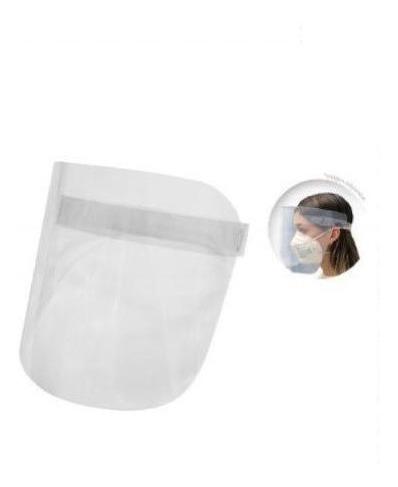 Set (3 Pz) Careta Visor Protectora Poliglass 350mc Ecoplast