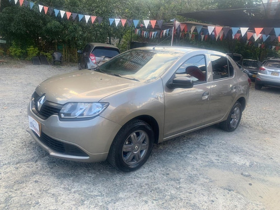 Renault Logan Authentique Mod 2018 35.000 Km Mec 2 Dueño