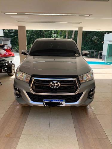 Toyota Hilux 2019 2.7 Sr Cab. Dupla 4x2 Flex Aut. 4p