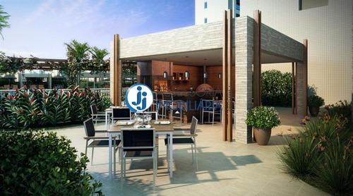 Sports Garden Club Residencial - Venda De Apartamento Em Lagoa Nova, Com 3 Suítes E Ótima Localização - Ap00041 - 2582584
