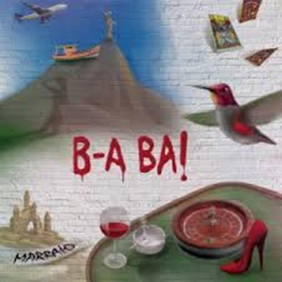 Mpb Rock Pop Cd Marraio B - A Ba! Lacrado Fabrica Duplo