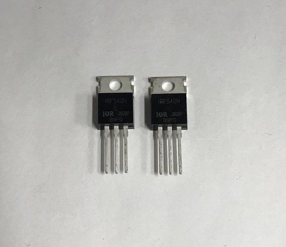 Transistor - Irf540n - ( 2 Unidades )