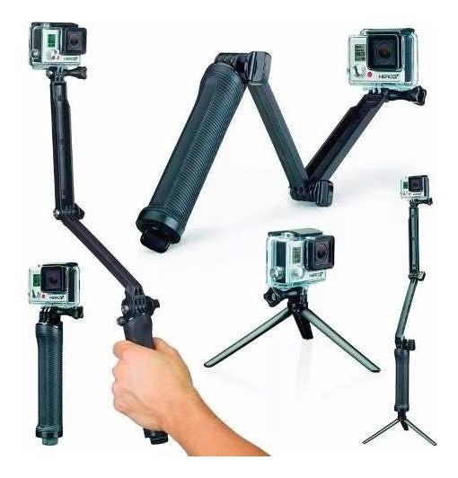 Bastão 3 Formas Para Gopro Selfie Camera