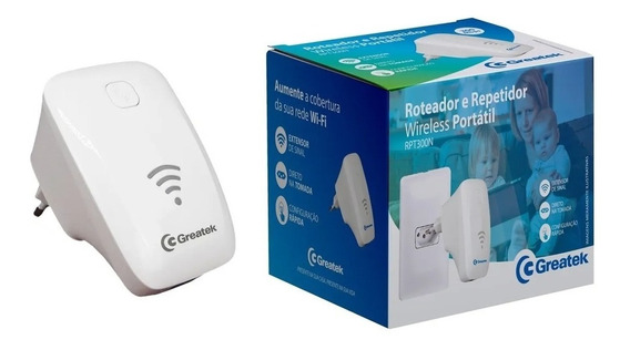 Roteador Repetidor Sinal Wifi 300 Mbps 2.4ghz