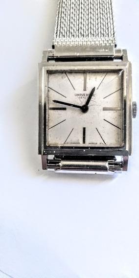 Universal Geneve Antigo Relógio Unissex Corda Manual Açoinox
