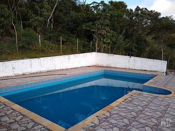 Juquitiba/chácara C/piscina/lazer/morar/ref:04973