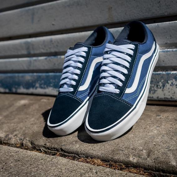 Tênis Vans Classic Old Skool Navy Azul Vn00bd3hnvy Original