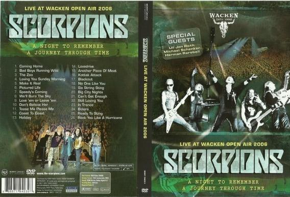 Scorpions Live At Wacken Open Air 2006 Dvd Novo