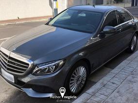 Mercedes-benz C-180 Exclus. Cgi 1.6 Tb Flex Aut. 2018 Cinza