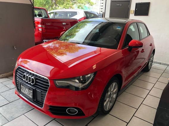Audi A1 2014 1.4 Ego S-tronic Dsg 5 Pts Rojo Sonido Bose
