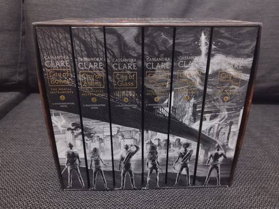 The Mortal Instruments Box Set - Complete Collection Inglês