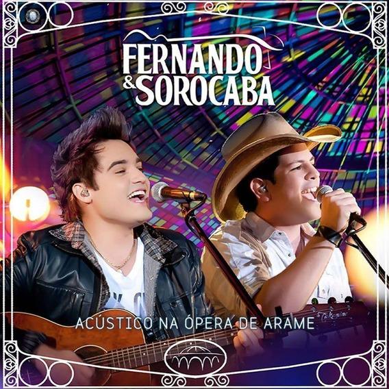 Cd Fernando E Sorocaba - Acústico Na Opera De Arame